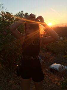 Bild Pals gegen die Sonne