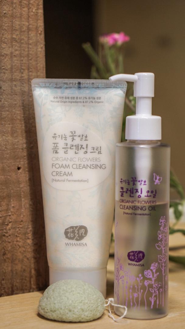 Naturkosmetik Reinigungsprodukte Double Cleansing Whamisa