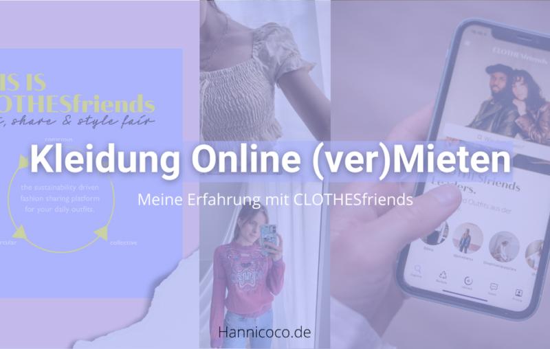 Kleidung Online Mieten